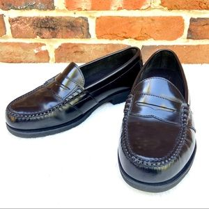 ROCKPORT Shakespeare Circle Leather Penny Loafer
